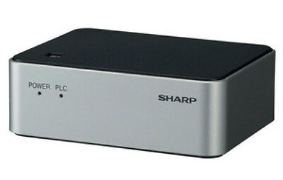 Sharp Hn Va400u  Homeplug Power Line Communications 4 Port Adapter