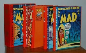 EC LIBRARY COMPLETE MAD  (4 Out of Print Hardcovers & Slipcase)