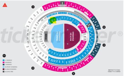 1 x Ed Sheeran ticket Friday 2 March 2018 - Optus Stadium