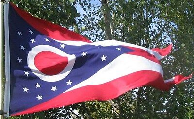 NEW 3x5 ft OHIO STATE OF FLAG