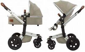 Joolz Day Stroller Inc. Carry Cot, Forward Facing Seat, Changing Bag, Foot Snug & Shopping Bag