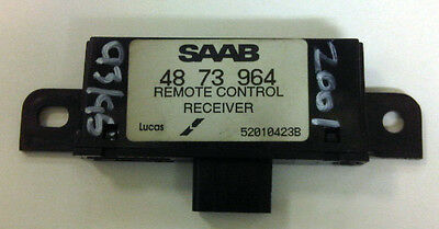 SAAB 9-5 9-3 Alarm Remote Control Receiver Twice Unit 1998-2010 4873964 5265525