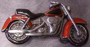 Pewter-Belt-Buckle-Motorcycle-Profile-red-N