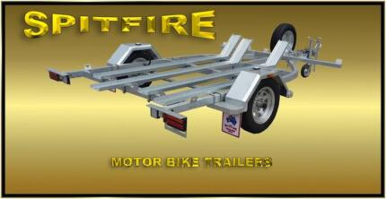 SPITFIRE Motor Bike & Quad Trailers Heavy Duty, Fully Welded HDG Salisbury North Salisbury Area Preview