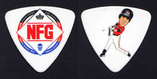 New Found Glory Ian Grushka Baseball Player Guitar Pick - NFG - 2016 Tour