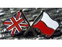 English and Polish lessons in Ipswich, Suffolk. Teacher, interpreter, translator. Language classes.