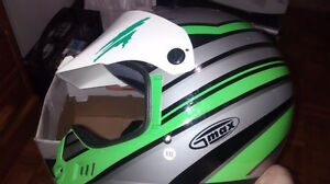 casque de motocross ou vtt full face xxl