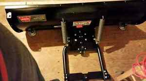 Warn provantage ATV plow w/front mount for 700 grizzly