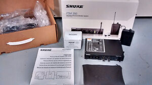 SHURE PSM200 PERSONAL IN EAR MONITORING SYSTEM (without earphone
