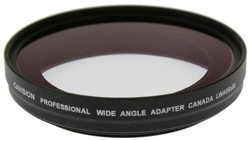 0.6x Wide Angle Adapter for 82mm Thread Lens