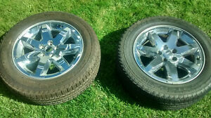 5 Jeep Liberty Rims / Tires - 2011. with TPMS London Ontario image 1