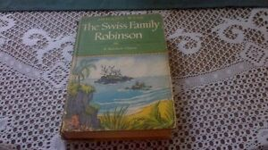1947 Special Edition Illustrated The Swiss Family Robinson HC/DJ