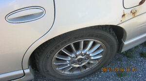 goodyear nordics  winter tires on pontiac rims Peterborough Peterborough Area image 1