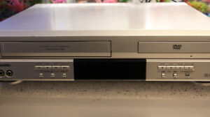 VCR/ Player and  DVD combination