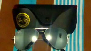 Grey Ray Ban sunglasses for sale