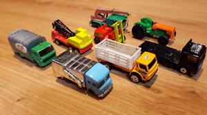 Group 17. Eight Vintage Diecast Vehicles.