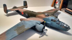 FMS B-25 1470mm BnF with custom paint and upgrades!!