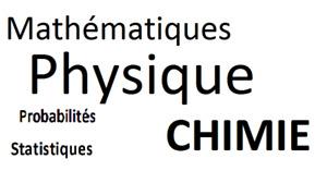 Mathématiques Physique Chimie Probabilités Statistiques