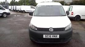 Volkswagen Caddy 1.6 Tdi 102Ps Startline Van DIESEL MANUAL WHITE (2015)