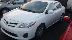 2011 Toyota Corolla CE plus 58$ per week
