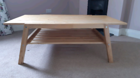 Solid wood coffee table or TV stand