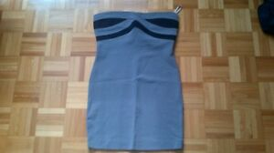 Guess Strapless Dress/Robe Bodycon/Bandage