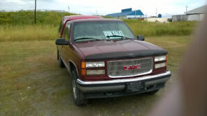1998 GMC SIERRA 4X4 WITH 350 VORTEC ENGINE