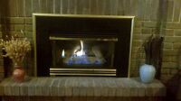 Napoleon and continental gas fireplaces