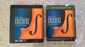 CALCULUS, sixth edition with solutions manual