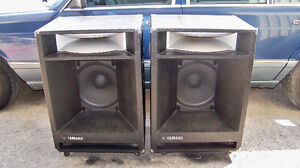 Yamaha Model S4115H PA speakers, CONSIDERING TRADES