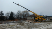 Crane service and rental