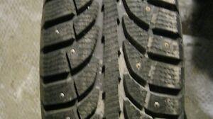 205/70R15 winter tires and Subaru rims