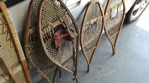 Wooden Snowshoes - $80.00 and $150.00 OBO