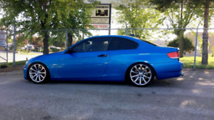 Bmw 335i, M3 blue, 6pd. Leather , with Nav *RARE FIND*