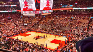 Toronto Raptors Tickets to All Home Games 2 or 3 tickets