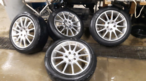 "18"" Cadillac Polished Aluminum Rims - 12 Spoke - Strathroy"
