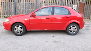 2007 CHEVROLET OPTRA 4 CYL HATCHBACK FOR ONLY $1100!!!