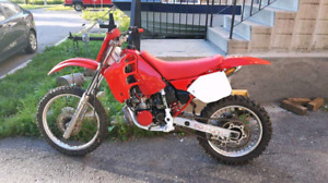 1990 cr 250 pretty well fully restored trade for truck or 3000