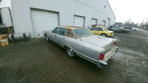 PARTS OR WHOLE 1978 Lincoln Town Car