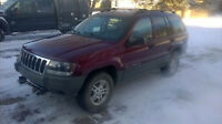 02 Grand Cherokee 4X4 (ONLY 162KM 7800 OBO) Solid & Priced2Sell