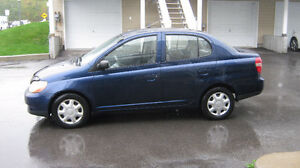 2002 Toyota Echo        AUTOMATIQUE     $1200