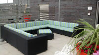 Patio Furniture Cushions and fabric
