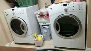 GE High Efficiency Washer and Dryer