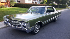 Chrysler Crown Imperial 1968 Mopar Classique