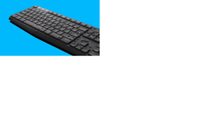 Keyboard, connection and  mouse-Cordless