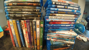 Blu-Rays & DVDs Movies, Series $100 FOR THE LOT$