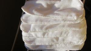 NEW 10 microfiber diaper inserts en microfibre