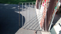 2 PANELS METAL STAIR RAILING FOR SALE - $35
