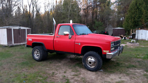 1984 chevy shorty dually