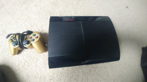 Ps3 super slim 500gb.